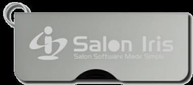 Install Salon Iris from the USB drive